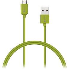 CONNECT IT Colorz Micro USB 1m zelený - Datový kabel