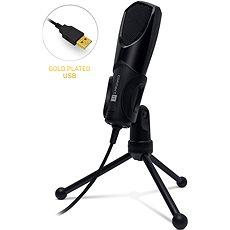 CONNECT IT CMI-8000-BK YouMic USB, černý - Ruční mikrofon