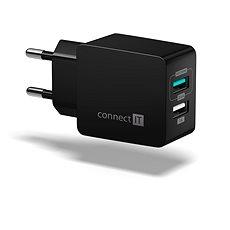 CONNECT IT Fast Charge CWC-2015-BK černá - Nabíječka