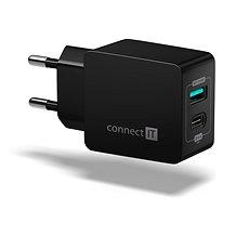 CONNECT IT Fast Charge CWC-2030-BK černá - Nabíječka
