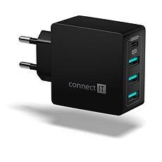 CONNECT IT Fast Charge CWC-4060-BK černá - Nabíječka