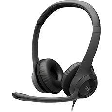Logitech USB Headset H390   - Sluchátka s mikrofonem