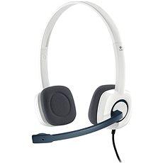 Logitech Stereo Headset H150 Coconut - Sluchátka s mikrofonem