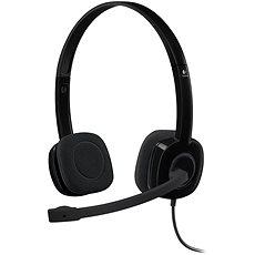 Logitech Stereo Headset H151 - Sluchátka s mikrofonem