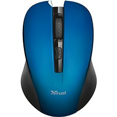 Trust Mydo Silent Click Wireless Mouse - blue - myš