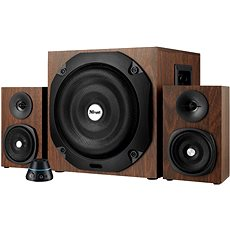 Trust Vigor 2.1 Subwoofer Speaker Set - hnědé dřevo - Reproduktory