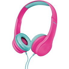 Trust Bino Kids Headphones pink - Sluchátka