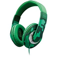Trust Sonin Kids Headphone jungle camo - Sluchátka