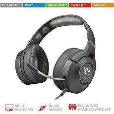 Trust GXT 420 Rath Multiplatform Gaming Headset - Herní sluchátka