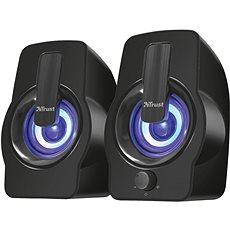 Trust Gemi RGB 2.0 Speaker Set - black - Reproduktory
