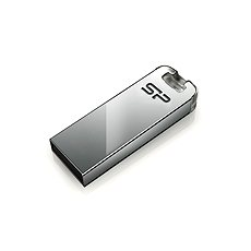 Silicon Power Touch T03 Silver 8GB - Flash disk