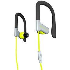 Energy Sistem Earphones Sport 1 Yellow - Sluchátka s mikrofonem