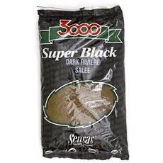 Sensas 3000 Dark Salty Riviere 1kg - Vnadící směs