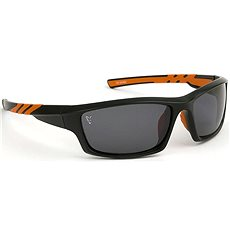 FOX  Sunglasses Black&Orange Frame/Grey Lens - Brýle