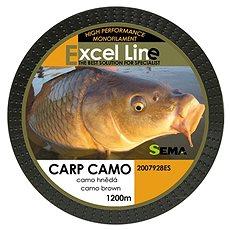 Sema Vlasec Carp Camo Brown 0,25mm 8,4kg 1200m - Vlasec