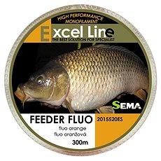 Sema Vlasec Feeder Fluo 0,20mm 5,85kg 300m - Vlasec