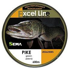 Sema Vlasec Pike 0,30mm 11,9kg 600m - Vlasec