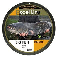 Sema Vlasec Big Fish 0,50mm 34,7kg 600m - Vlasec