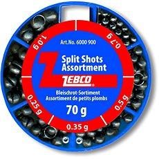 Zebco Split Shot Assortment Fine 70g - Broky