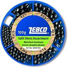 Zebco Split Shot Assortment Fine 100g - Broky