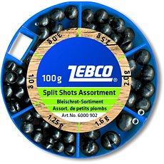 Zebco Split Shot Assortment Coarse 100g - Broky