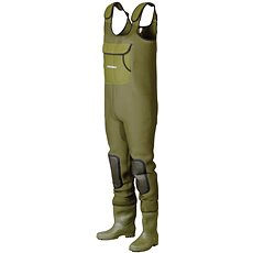 DAM Fighter Pro+ Neoprene Chestwader Cleated Sole - Prsačky