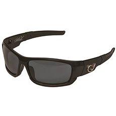 Mustad HP Polarized Sunglasses Black Frame + Smoke Lens    - Brýle