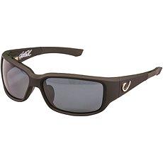 Mustad HP Polarized Sunglasses Black Vented Frame + Smoke Lens  - Brýle