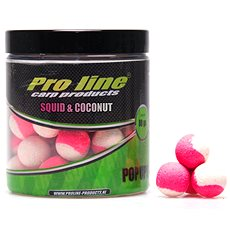 Pro Line Fluor Pop-Ups Squid & Coconut 15mm 80g - Pop-up boilies