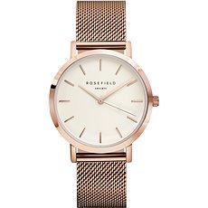 ROSEFIELD The Mercer White RoseGold - Dámské hodinky