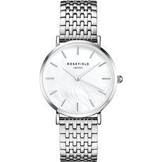 ROSEFIELD The Upper East Side White MOP Silver - Dámské hodinky