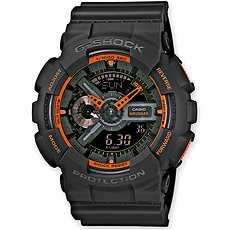 CASIO G-SHOCK GA 110TS-1A4 - Pánské hodinky