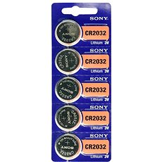 SONY CR2032  (5 ks) - Knoflíkové baterie