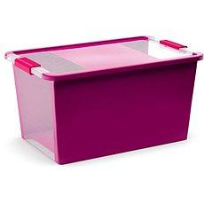 KIS Bi box L  - fialový 40l - Úložný box