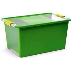 KIS Bi Box L - zelený 40l - Úložný box