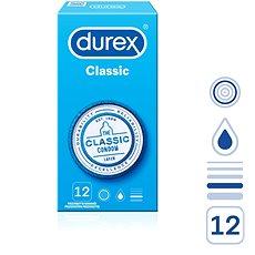 DUREX Classic 12 ks - Kondomy