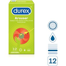 DUREX Tickle Me 12 ks - Kondomy