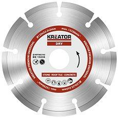 Kreator KRT082102, 125mm - Diamantový kotouč