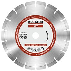 Kreator KRT082104, 230mm - Diamantový kotouč