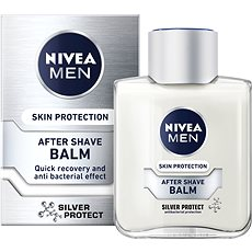 NIVEA Men After Shave Balm Silver Protect 100 ml - Balzám po holení