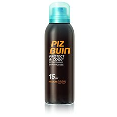 PIZ BUIN Protect & Cool Refreshing Sun Mousse SPF15 150 ml - Pěna