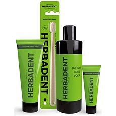 HERBADENT - balíček pro zdravá ústa CARE - Kosmetická sada