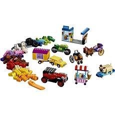 LEGO Classic 10715 Kostky na kolečkách - Stavebnice