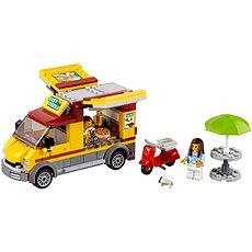 LEGO City 60150 Dodávka s pizzou - Stavebnice