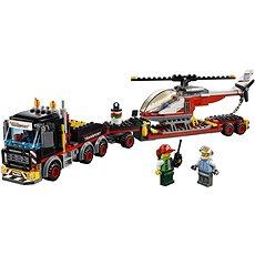 LEGO City 60183 Tahač na přepravu těžkého nákladu - Stavebnice