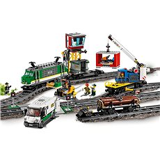 LEGO City Trains 60198 Nákladní vlak - Stavebnice