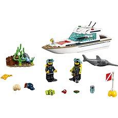 LEGO City 60221 Potápěčská jachta - Stavebnice