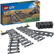 LEGO City Trains 60238 Výhybky - Stavebnice
