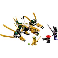 LEGO Ninjago 70666 Zlatý drak - Stavebnice