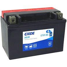 EXIDE ETX9-BS, 12V, 8Ah, 120A - Motobaterie